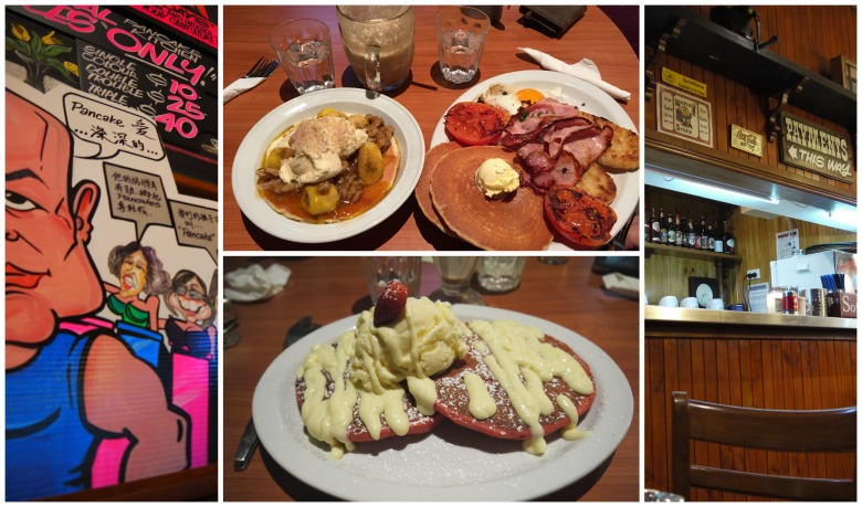 Pancake Kitchen Collage